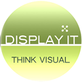 display it logo